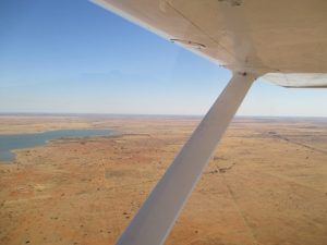 approaching mafikeng (south africa) airfield with c152