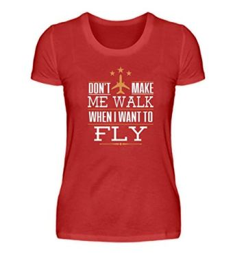 female pilot shirt